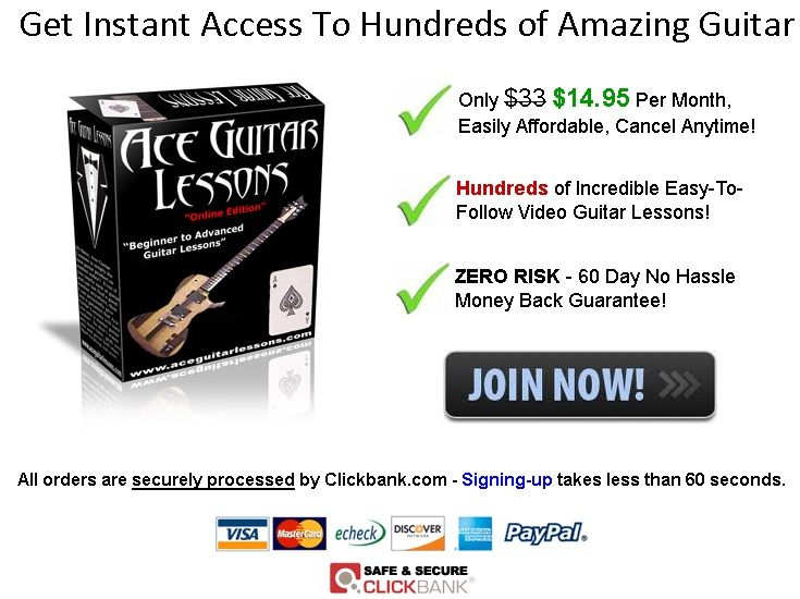 ace guitar lessons review