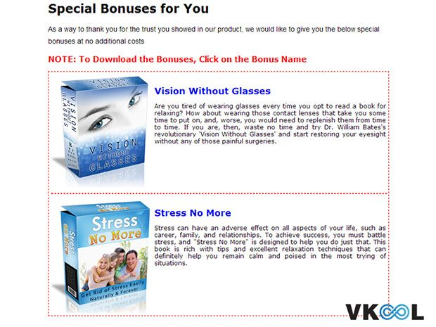 Eye floaters no more bonuses download