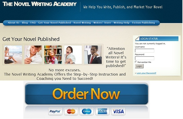 novel writing academy review