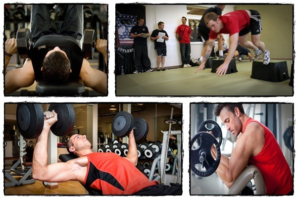 strength training workouts at the gym