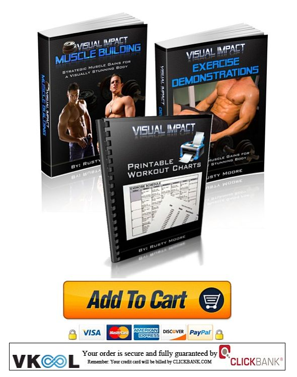 Visual impact muscle building order