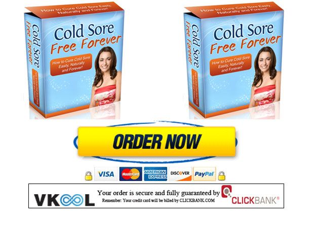 Cold sore free forever book download