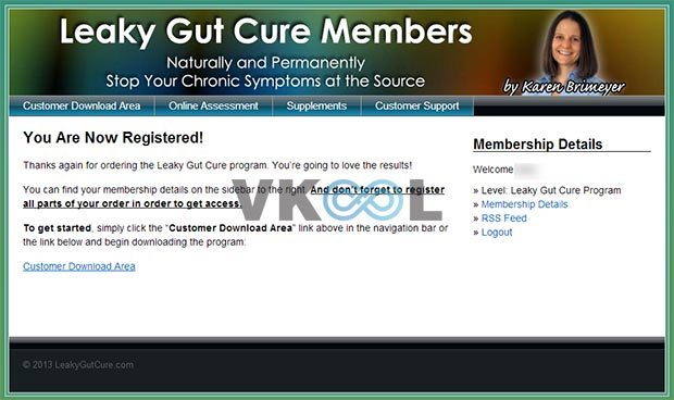 Leaky gut cure member ship site