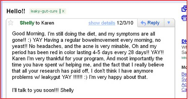 Leaky gut cure program success stories