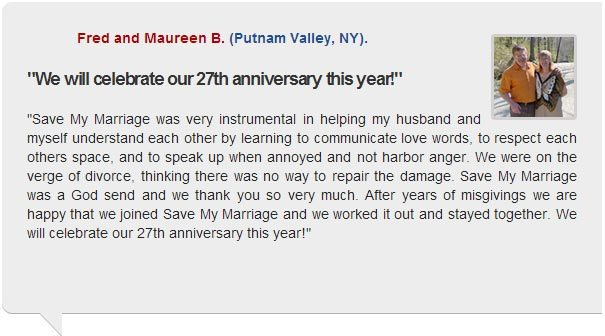 Save my marriage today testimonial