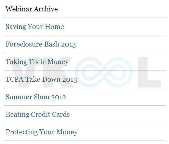 What lies in your debt review - Webinars archive