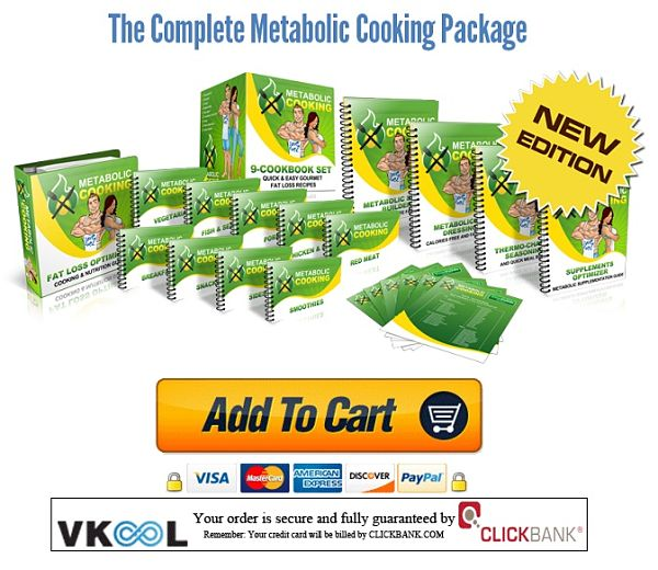 Metabolic cooking order