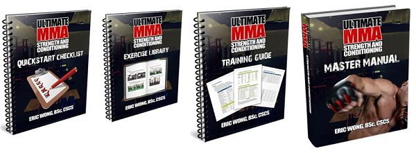Ultimate MMA strength and conditioning program bonuses