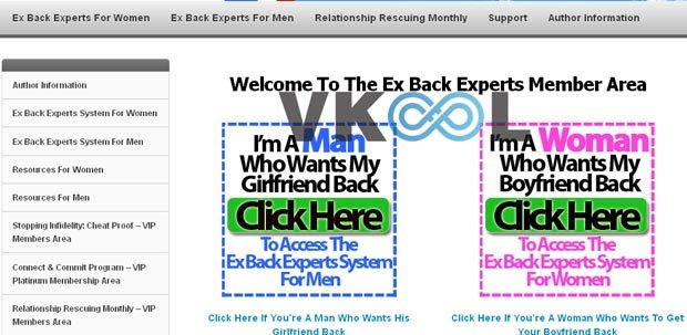 Ex back experts membership site