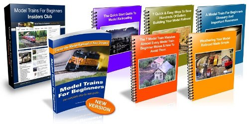 Model trains for beginners book package