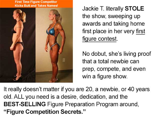 Testimonial for figure competition secrets