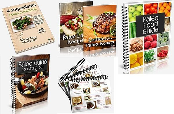 Paleo cookbooks bonus