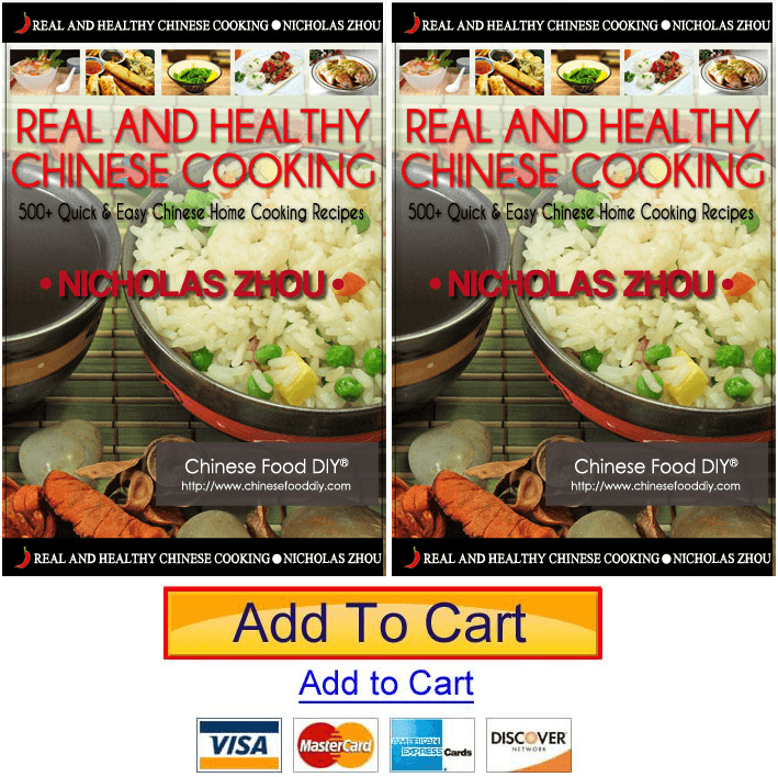 cookbook real and healthy chinese cooking