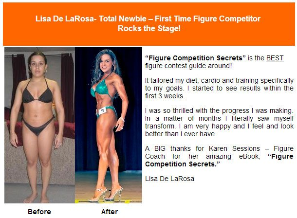 Figure competition secrets testimonial