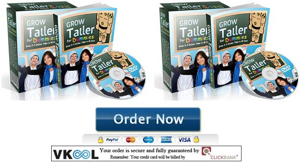 grow taller for dummies review order
