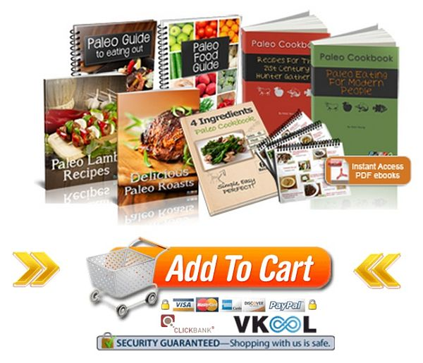 paleo cookbooks order