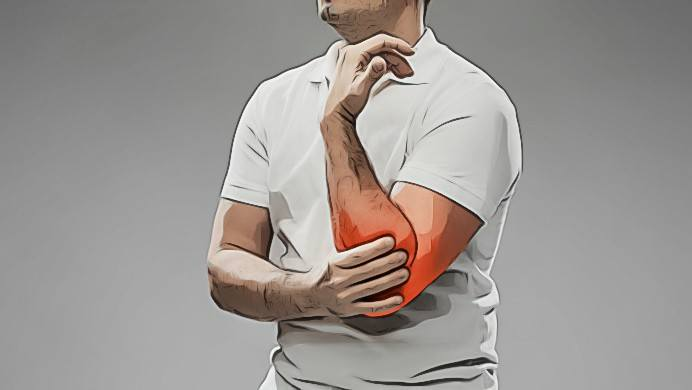 fixing elbow pain system