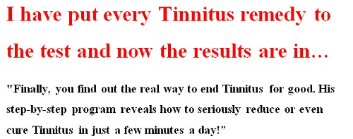 tinnitus treatment reviews