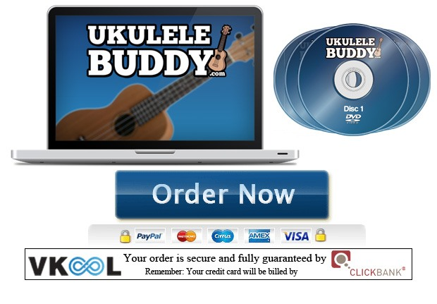 Ukulele buddy ebook and video lessons order