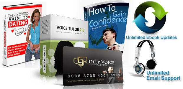 Deep voice mastery program all bonues