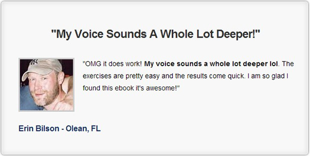 Deep voice mastery real user review