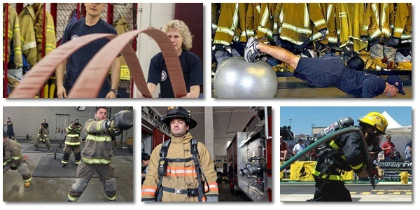 firefighter workout regime first alarm