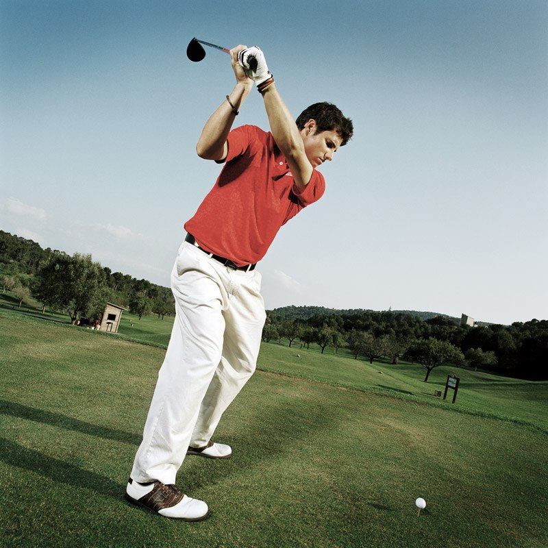 golf strength training power golf training