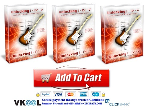 guitar theory lessons and unlocking i-iv-v