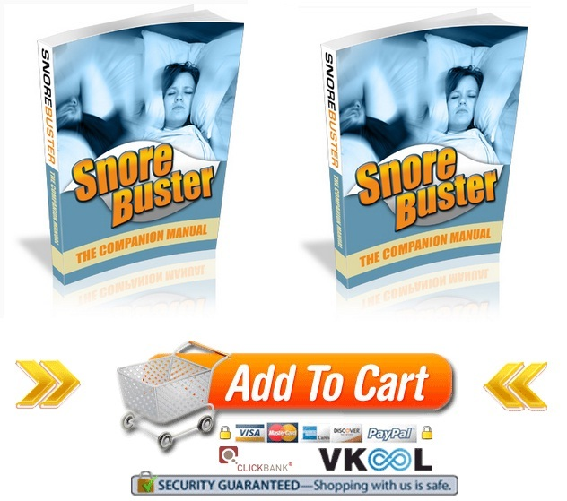 how to get rid of snoring and snore buster