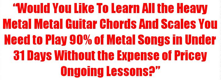 how to play an electric guitar with headphones tearing it up learn heavy metal guitar