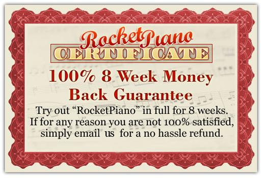 Rocket piano guarantee