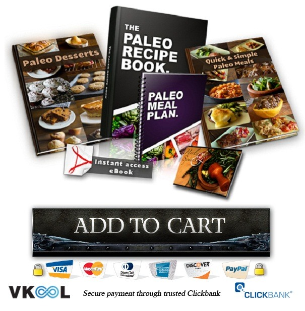 the paleo recipe book order