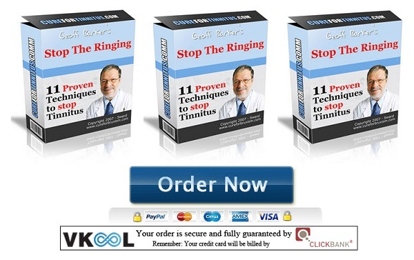 natural tinnitus treatment stop the ringing 1