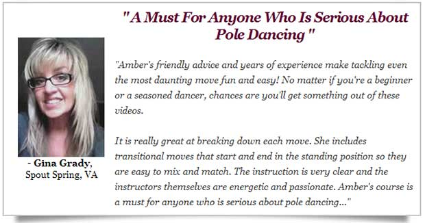 Pole dancing course comment