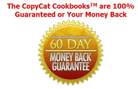 quick meal ideas the copycat cookbooks 5