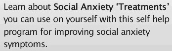social anxiety disorder treatment social anxiety secrets 1