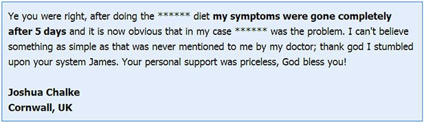 The IBS miracle pdf testimonial