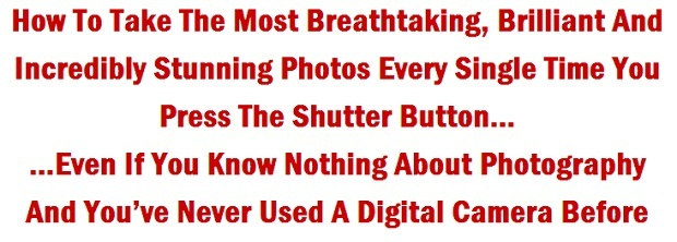 tips for taking pictures digital photography success 1