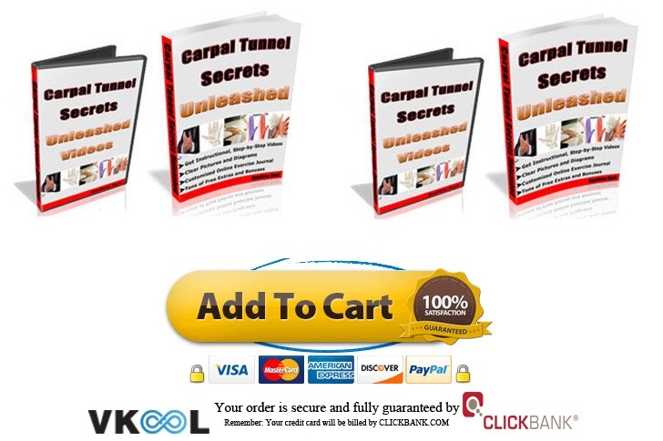 carpal tunnel home treatment exercises carpal tunnel secrets unleashed system