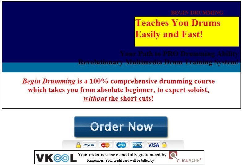 drum lessons for beginners online begin drumming