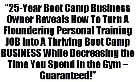 fitness business plan template sure victory fitness boot camp