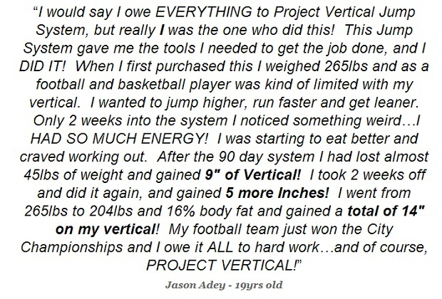 high jump techniques review project vertical jump training system