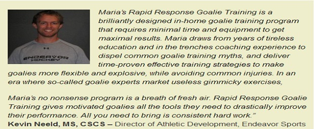 hockey goalie drills for men rapid response goalie training