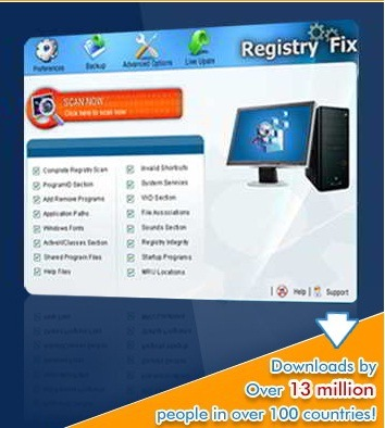 registry cleaning software free registry fix