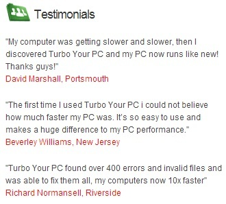 software to speed up computer free turbo your pc