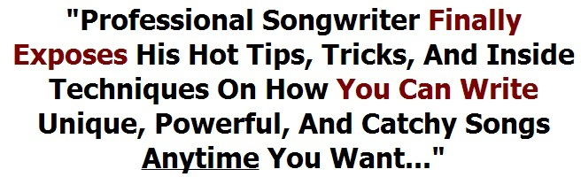 song writing ideas with professional song writing secrets
