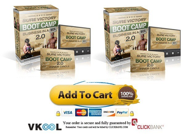 sure victory boot camp business in a box