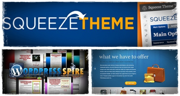 wordpress squeeze page theme in wordpress squeeze page plugin