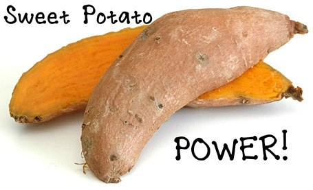 how to lose thigh fat - eat sweet potatoes