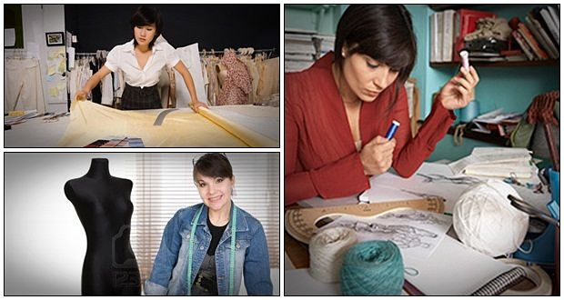 how to become a successful fashion designer online